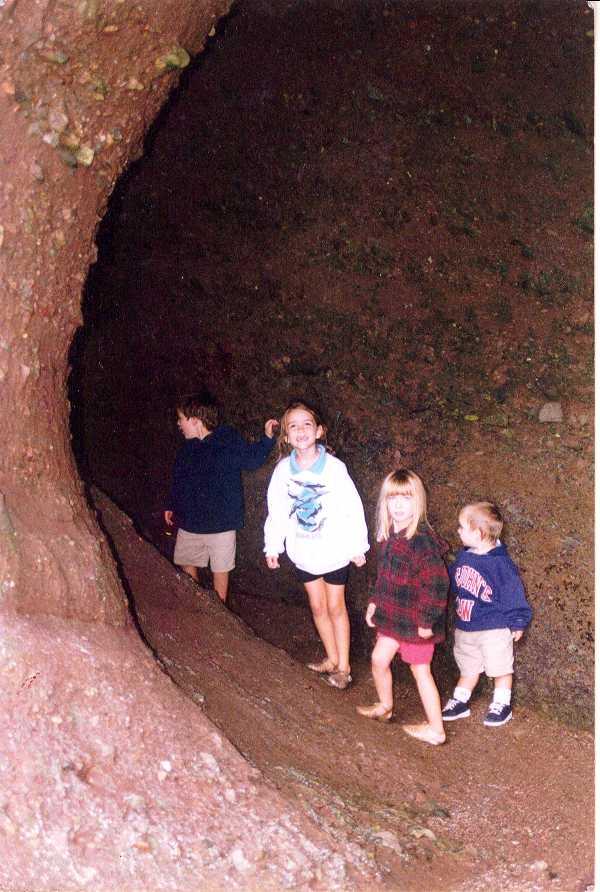 explore a sea cave